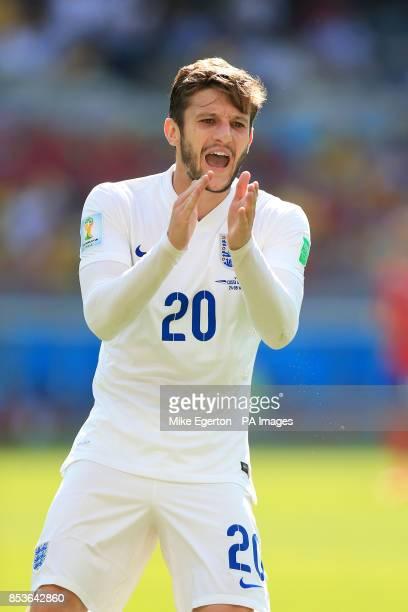 England's Adam Lallana during the FIFA World Cup Group D match at the Estadio Mineirao Belo Horizonte Brazil