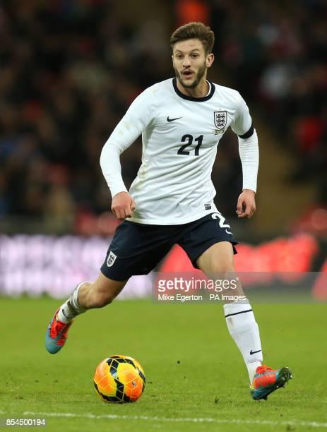 England's Adam Lallana during the international friendly at Wembley Stadium London