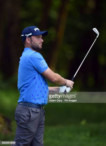 England's Andy Sullivan during day four of the BMW PGA Championships at the Wentworth Club Surrey