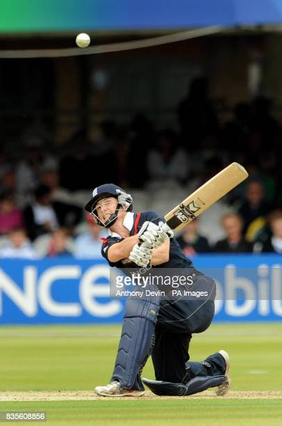 England's Claire Taylor bats during the Final of the Women's ICC World Twenty20 at Lords London