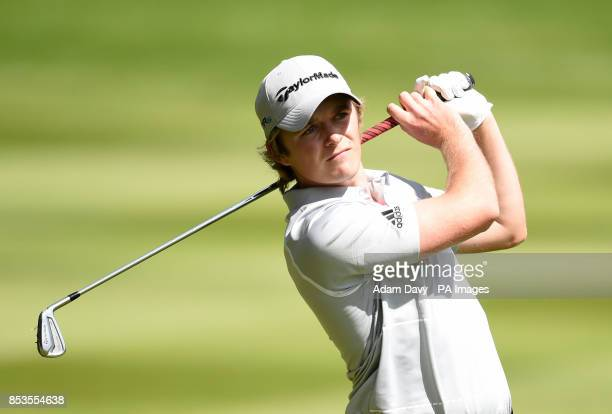 England's Eddie Pepperell during day four of the BMW PGA Championships at the Wentworth Club Surrey