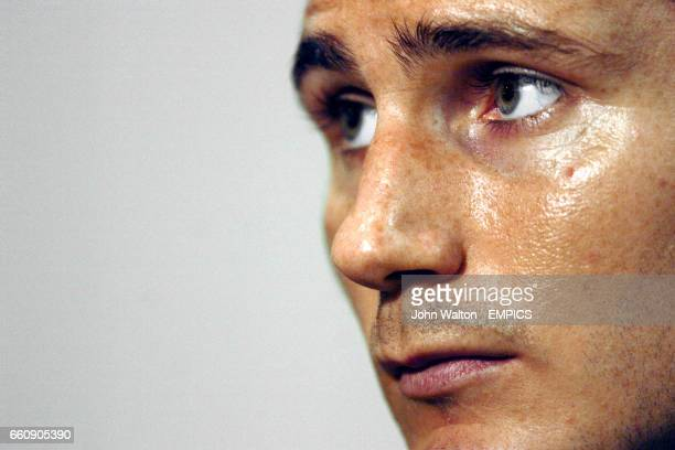 England's Frank Lampard during the press conference