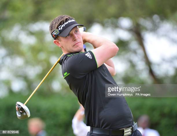 England's Garrick Porteous during day one of the 2013 Open Championship at Muirfield Golf Club East Lothian