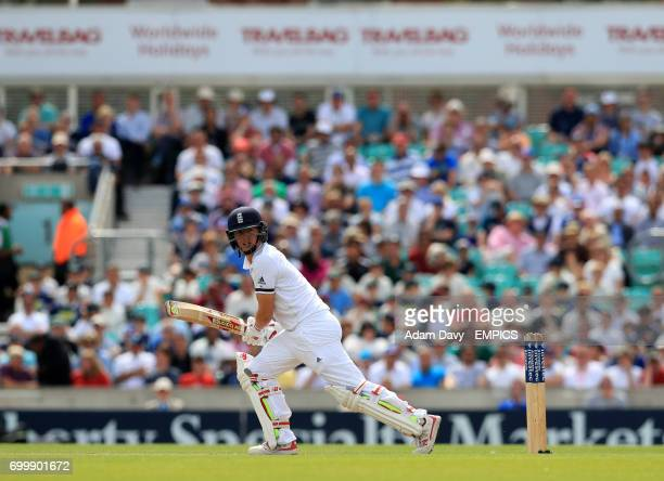 England's Gary Balance in action during his innings