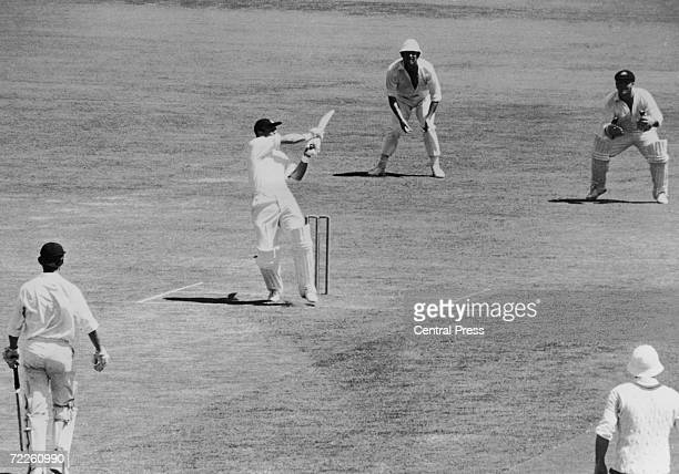 England's Geoff Boycott is cuaght by John Gleeson on the boundary after scoring 77 runs during the fourth test at Sydney 16th January 1971 England...