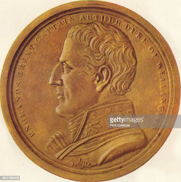 England's Great Captain Arthur Duke of Wellington Souvenir Medal' 1815 The souvenirmedal is part of a collection box issued by Edward Orme to...