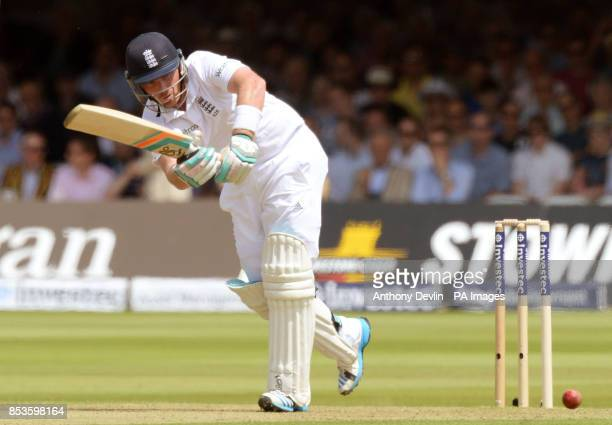 England's Ian Bell bats during day one of the Investec Test match at Lord's Cricket Ground London