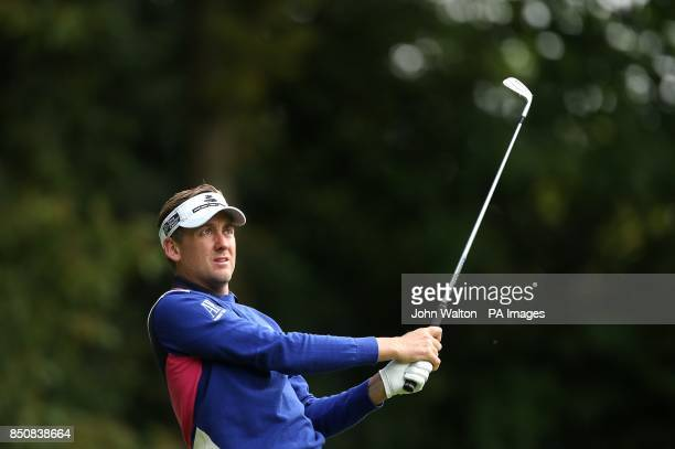 England's Ian Poulter during Day Two of the 2013 BMW PGA Championship at Wentworth Golf Club