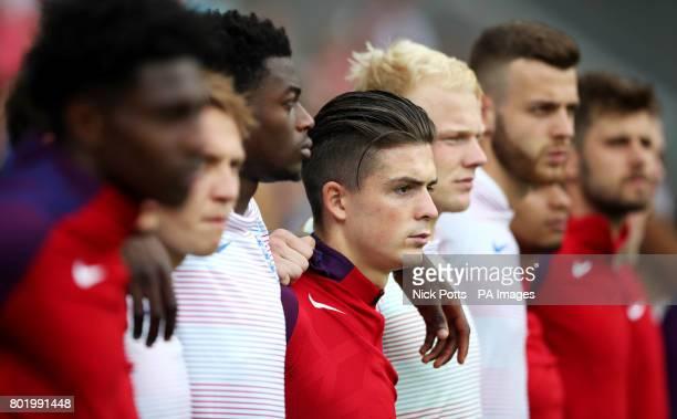 England's Jack Grealish before the UEFA European Under21 Championship Semi Final match at Stadion Miejski Tychy