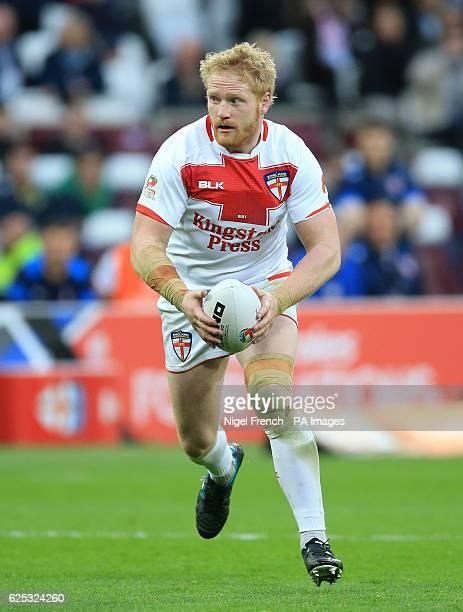 England's James Graham
