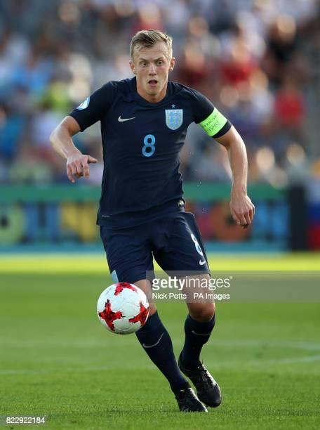 England's James WardProwse