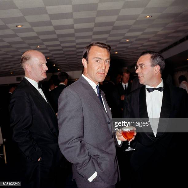 England's Jimmy Greaves enjoys a glass of beer at a pretournament function