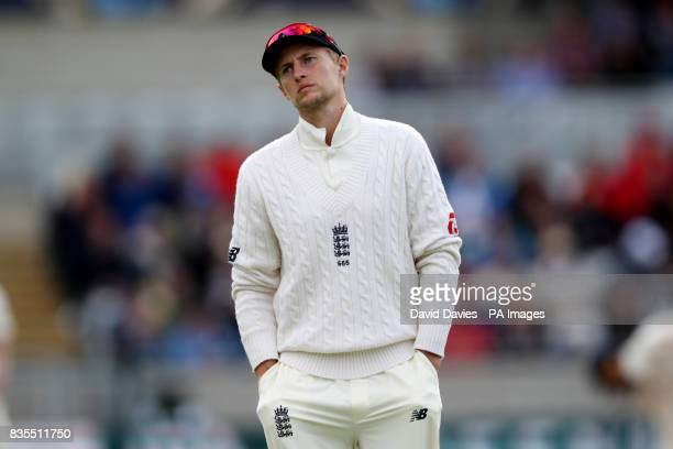 England's Joe Root during day three of the First Investec Test match at Edgbaston Birmingham