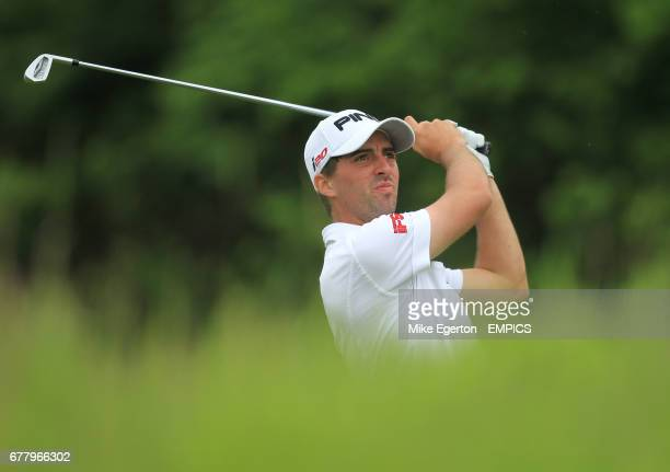England's John Parry during round two of The ISPS Handa Wales Open 2012