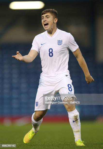 England's Jonjoe Kenny during the game match against The Netherlands'