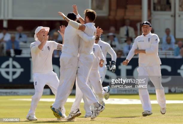 England's Liam Plunkett celebrates taking the wicket of India's Virat Kohli for 0
