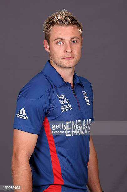 England's Luke Wright poses at a portrait session ahead of the opening of the ICC T20 World Cup on September 16 2012 in Colombo Sri Lanka