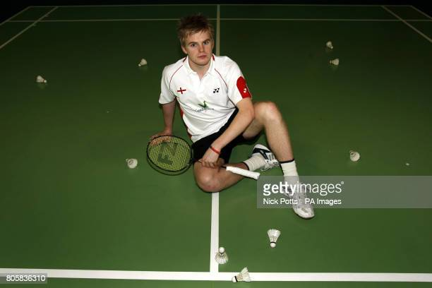 England's Marcus Ellis poses for the photographs during the photocall at the National Badminton Centre Milton Keynes