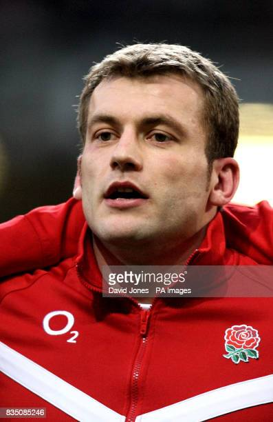 England's Mark Cueto before the Six Nations match against Wales at the Millennium Stadium Cardiff