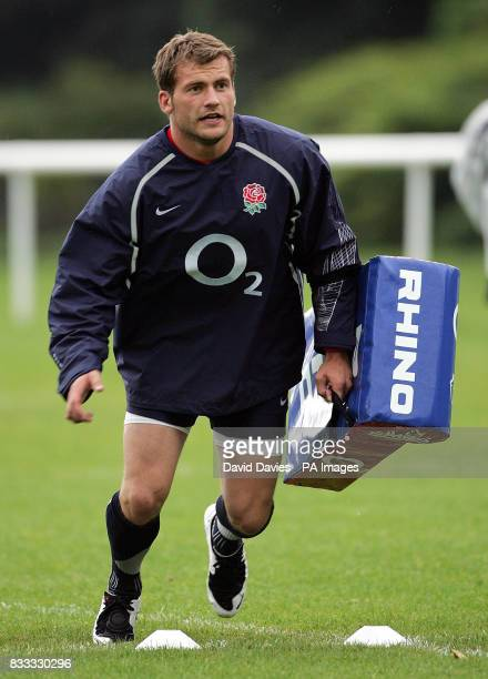 England's Mark Cueto during a training session at University of Bath