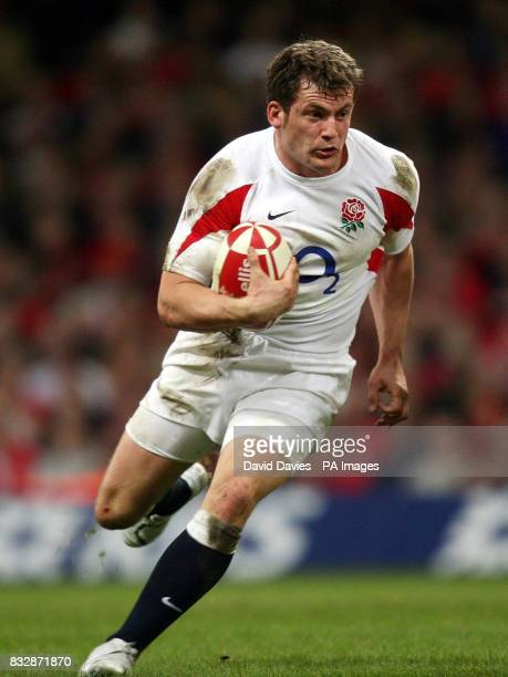 England's Mark Cueto during the RBS 6 Nations match at the Millennium Stadium Cardiff