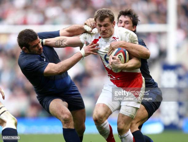 England's Mark Cueto in action