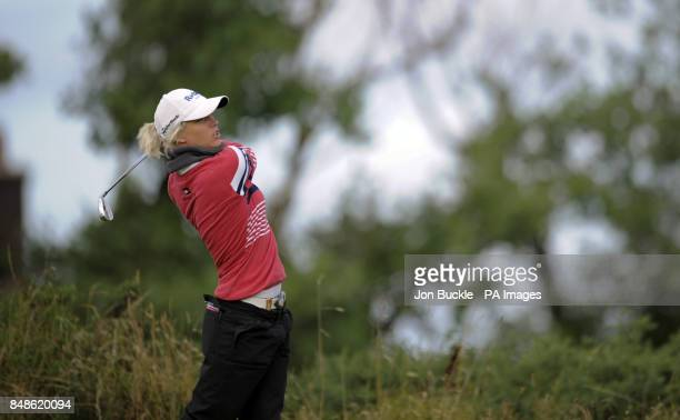 England's Melissa Reid during day three of the Ricoh Women's British Open at the Royal Liverpool Golf Club Hoylake