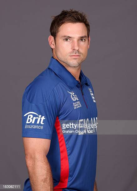 England's Michael Lumb poses at a portrait session ahead of the opening of the ICC T20 World Cup on September 16 2012 in Colombo Sri Lanka