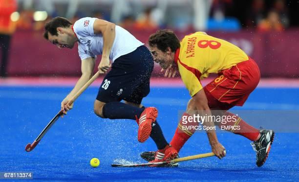 England's Nicholas Catlin and Spain's Alex Fabregas