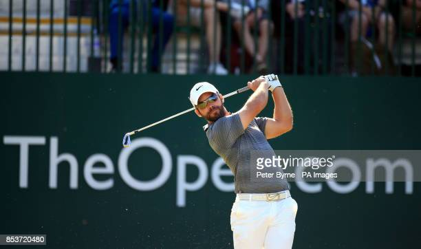 England's Paul Casey during day one of the 2014 Open Championship at Royal Liverpool Golf Club Hoylake