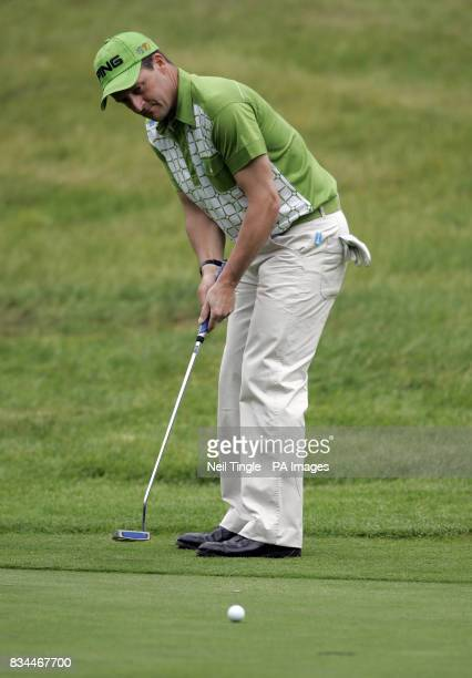 England's Paul Streeter during Round Two of the BMW PGA Championship at Wentworth Golf Club Surrey