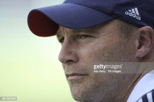 England's Performance Director Danny Kerry after the game against Australia during the Rabobank Hockey World Cup in the Kyocera Stadium Den Haag...