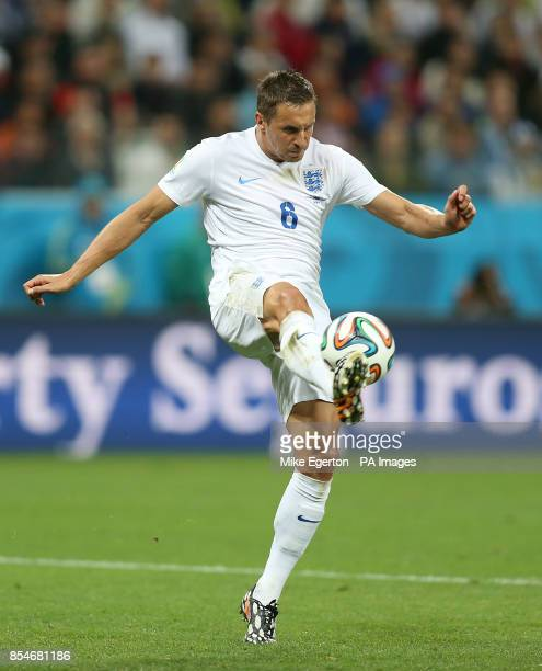 England's Phil Jagielka during the Group D match the Estadio do Sao Paulo Sao Paulo Brazil