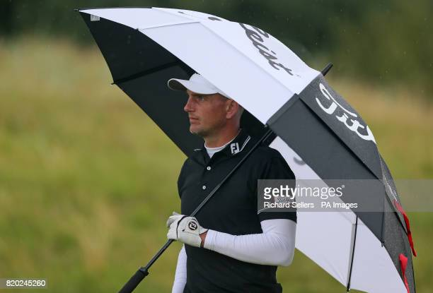 England's Robert Dinwiddie during day two of The Open Championship 2017 at Royal Birkdale Golf Club Southport