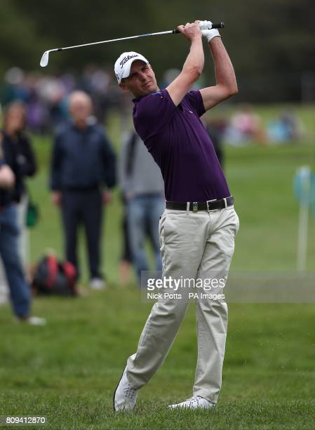 England's Robert Dinwiddie during The first round of The Irish Open