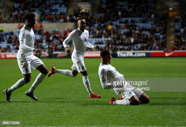 England's Ruben LoftusCheek celebrates scoring his sides first goal of the game