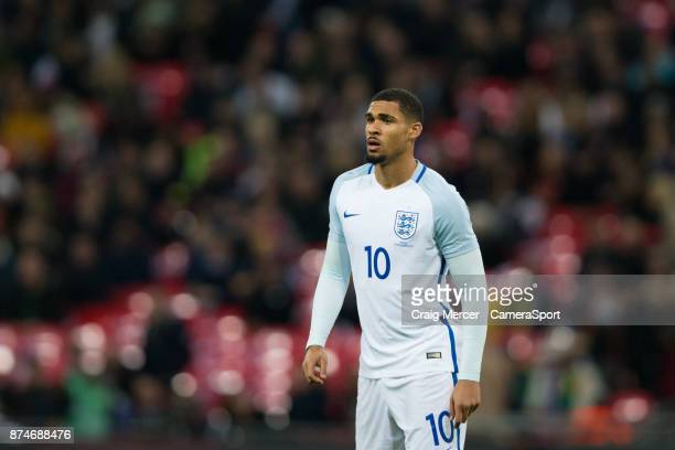 England's Ruben LoftusCheek during the Bobby Moore Fund International between England and Brazil at Wembley Stadium on November 14 2017 in London...