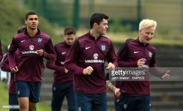 England's Ruben LoftusCheek during the training session
