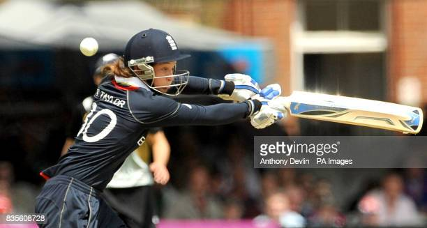 England's Sarah Taylor bats during the Final of the Women's ICC World Twenty20 at Lords London