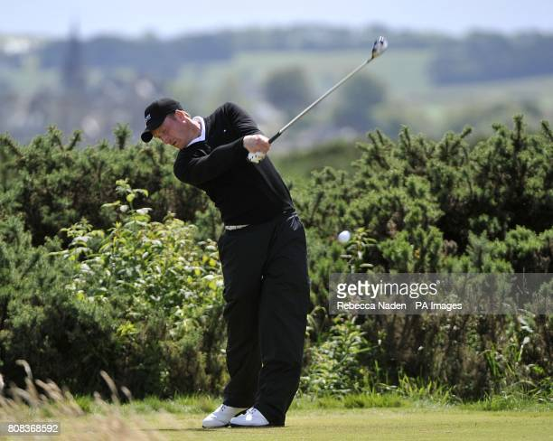England's Steven Tiley in action during round three of The Open Championship 2010 at St Andrews