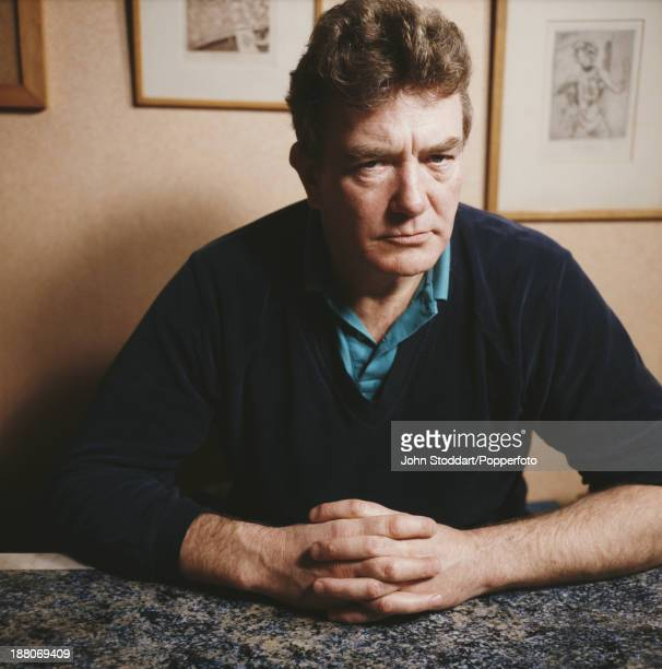 English actor Albert Finney circa 1988