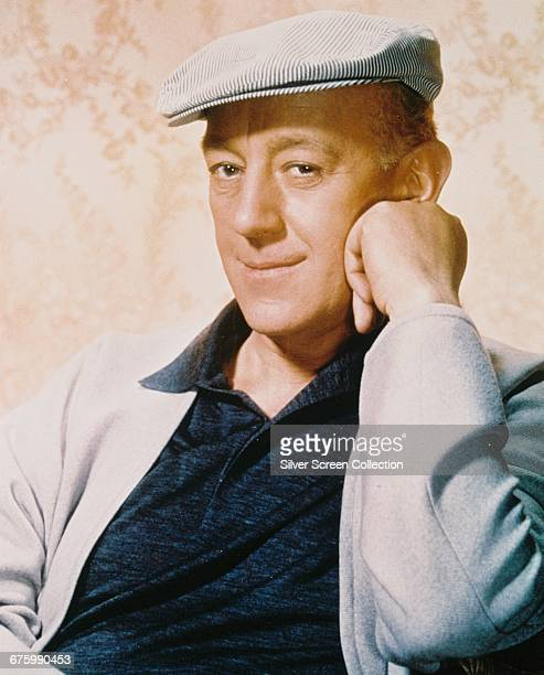 English actor Alec Guinness circa 1960
