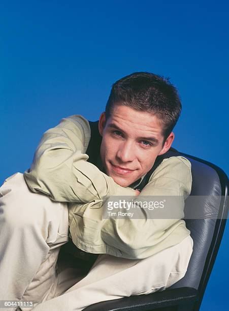 English actor and singer Sean Maguire circa 1995