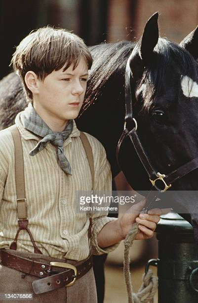 English actor Andrew Knott as Joe Green in the film 'Black Beauty' 1994