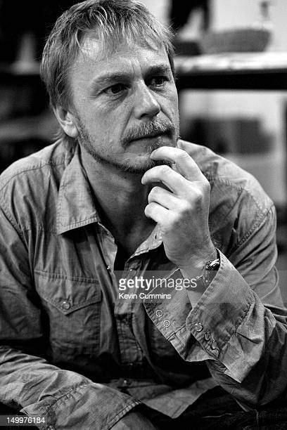 English actor Ben Daniels during rehearsals for Nicholas Wright's stage adaptation of Zola's 'Therese Raquin' for the National Theatre 2006
