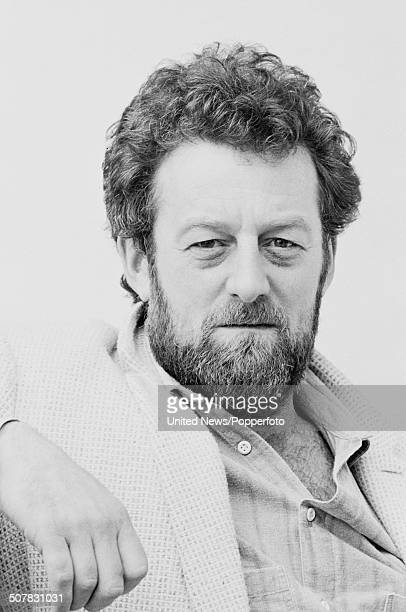 English actor Bernard Hill posed in London on 10th April 1984