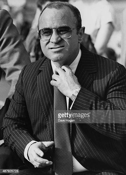 English actor Bob Hoskins as he appears in the film 'Lassiter' May 1983