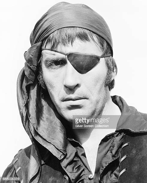 English actor Christopher Lee As Captain LaRoche in the film 'The Pirates of Blood River' 1962