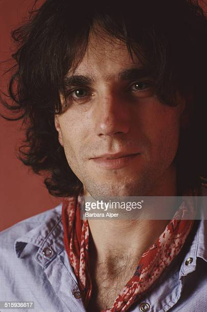 English actor Daniel DayLewis New York City 29th October 1989