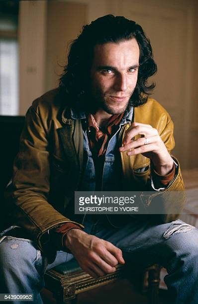 English Actor Daniel DayLewis